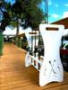 hook design fishing rod storage stand
