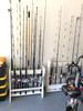garage storage for fishing poles