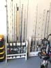 garage storage for fishing poles