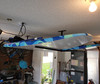 garage ceiling storage for paddleboards