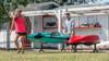 Kayak Portable Beach Storage Stand | the ShoreTee
