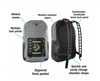 waterproof backpack adjustable straps