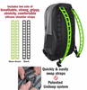 interchangeable backpack straps waterproof