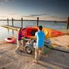 kayak trailer for boat ramp