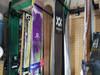 powder ski storage rack