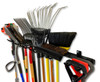organized tool wall rack