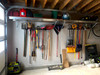 organized garage tool storage