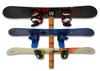 Handcrafted Cedar Wall Rack | 6 Snowboards | Single Mount