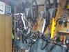 hanging bike storage
