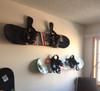 best way to hang snowboards