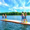 floating lake play mat