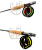 Clear Fishing Rod Wall Rack | Display Hooks