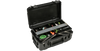 waterproof rolling tackle box case