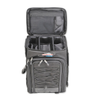 multi compartment tackle box pack