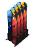 Freestanding Snowboard Display | Resort & Condo Storage | Holds up to 16 Boards