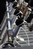 aluminum fishing rod rack for truck bed
