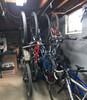 garage ceiling bike hooks