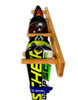 how to hang skis on the wall