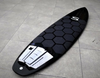 Wax Mat Traction Kit | Honeycomb | Shortboard and Longboard