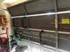 fly rod storage rack for garage door