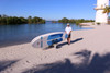 paddleboard beach cart