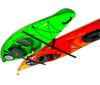 Hi-Port 2 | Adjustable 2 Kayak Ceiling Storage | Demo