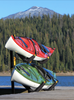 kayak outdoor dock storage rack 2 kayaks