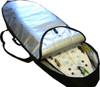best longboard day travel bag fin gusset
