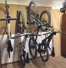 basement storage rack for mountain bikes