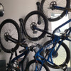 wall display for mountain bikes