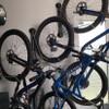 wall display for mountain bikes