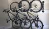 garage wall storage for mountain bikes