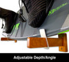 adjustable wakeboard wall rack display