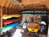 best kayak indoor storage