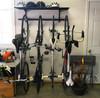 bike storage for garage wall