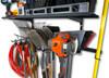 garage wall mount tool storage rack