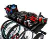 garage bike gear wall storage shelf