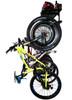wall mounted garage bike rack