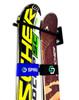 Double Ski Wall Rack | Ski Couple | Heavy-Duty Home and Garage Storage | Demo