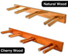 real wood ski storage rack