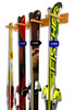 indoor ski wall storage