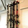 garage ski storage system
