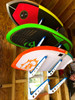 wakesurf board wall storage rack