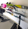 garage organizer for wakeboards