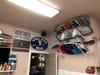 indoor wakeboard storage rack