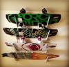 wakeboard storage home wall rack