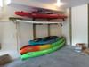 garage paddleboard storage rack