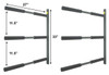 metal sup wall storage rack