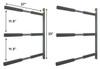 metal sup wall storage rack