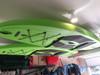 garage ceiling SUP rack